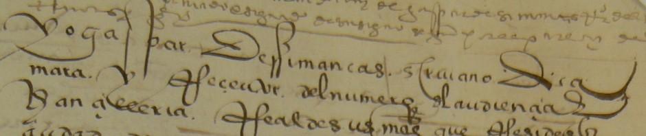 """Curso en línea: """"Escrituras antiguas y grafías que han caído en desuso. Paleografía."""""""